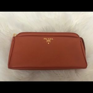 Authentic Prada Leather Pouch